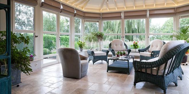 Stappenplan bouwen veranda - Interieur van een veranda ...